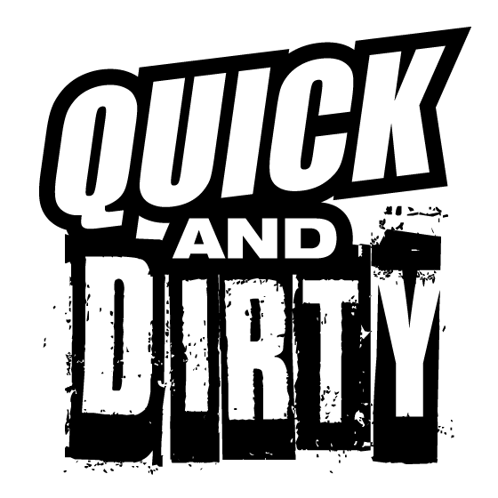 Quick And Dirty Games Logo